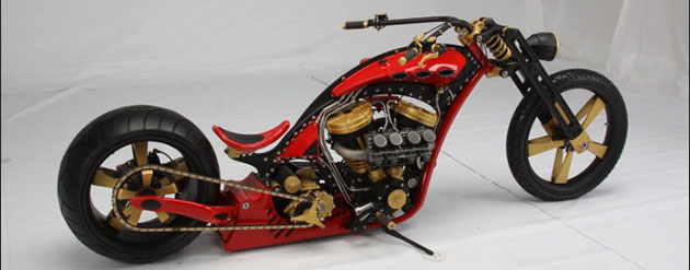 La «Sniper» de Thunderstruck Custom Bikes