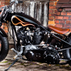 Una Knucklehead de JCP Custom Parts