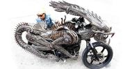 La moto Alien