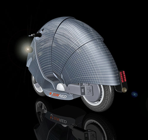 Scooter solar.