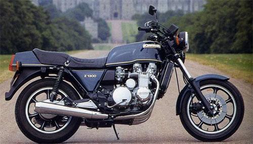 La Kawasaki Z1300, la bestia.