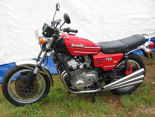 La Benelli Sei, una moto que hizo historia.