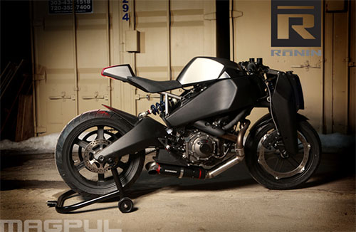 ¿Hará falta permiso de armas para llevar esta moto?