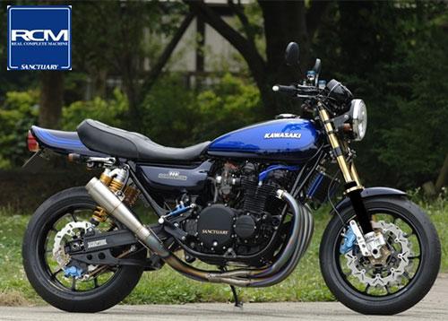 Kawasaki Z1 o Z2, bellísima.