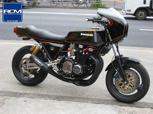 La Kawasaki KZ1000, muscle bike donde las haya.