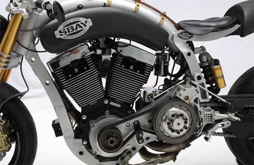 El motor RevTech, como siempre espectacular.