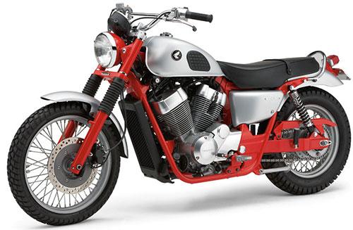 La Scrambler, inspirada en la Honda CL77 305 de los años 60.