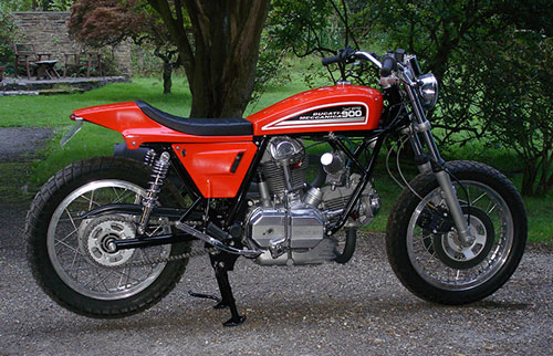 La Ducati Harleizada ...