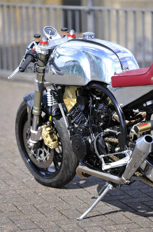Unos megáfonos perfectos para esta moto.