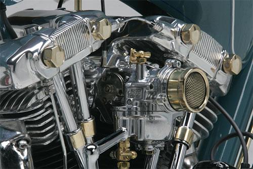 El motor de cerca.