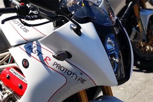 Esta imagen corresponde a un prototipo visto en Alice's Restaurant durante el mundial de MotoGP en Laguna Seca.