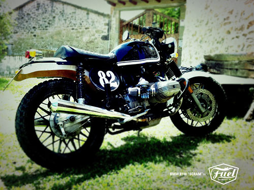 Me gusta la moto y su puesta en escena.